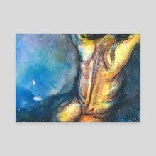 Submerged Divinity  - Canvas by Natasha Feliciano