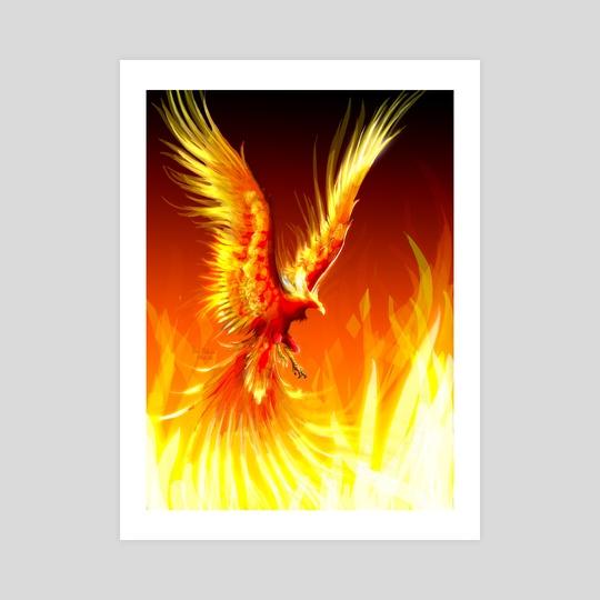 Phoenix by Melinda Vass