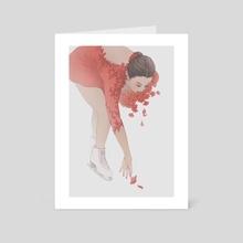 Ritual Fire Dance II - Art Card by Cynthia Tedy