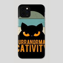 Purranormal Cativity Halloween - Phone Case by Visuals Artwork