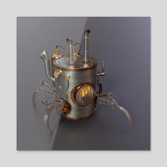 Steambot 01 by Sasha Belousov