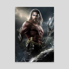Aquaman FlashPoint - Canvas by Valentin Romero