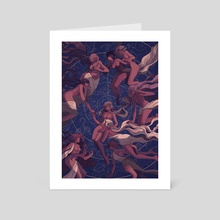 Constellations - Art Card by Juliette Cousin