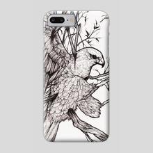 Peregrine Falcon - Phone Case by Inked Brain