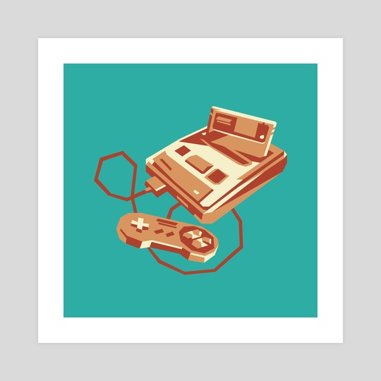 SNES by Liam Brazier