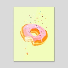 Delightful Donut - Acrylic by Kali Ciesemier