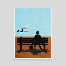 Forrest Gump - Canvas by Deniz Akerman