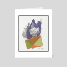 Crystallography #5. - Art Card by Tedd Anderson