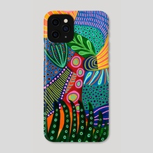 MiMano Art no 73 - Phone Case by Linda Kofoed