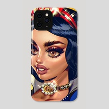 Snow white - Phone Case by Naked Cherry