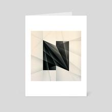 N - Art Card by Nicholas Matej