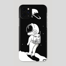 Lost in space - Phone Case by Potato Van