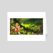 Black Forest - Art Card by Lara Paulussen