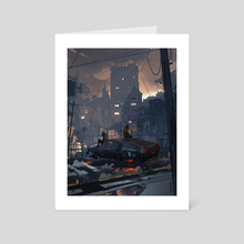 Tell me lies - Art Card by Ismail Inceoglu