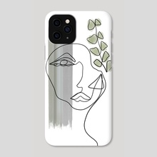 Mellow Fengari - Phone Case by Katerina Agriostathis