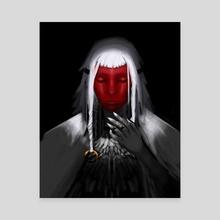 The Mask - Canvas by yevgeniy lekhnovich