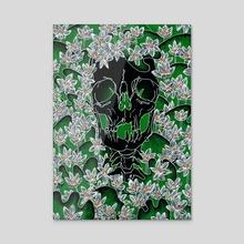 In Bloom - Acrylic by Amanda Bush
