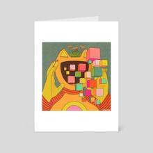 LUMINANCE - Art Card by KRABSNAX