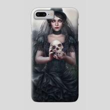 Her own funeral - Phone Case by Gracjana Zielinska