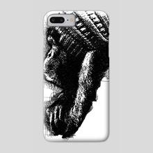 Monkey See Monkey Do - Phone Case by Udegbunam TBJ