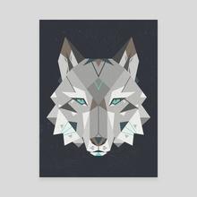 Wild - Canvas by Nayla Smith