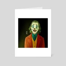 JOKER - Art Card by Marta Garcia