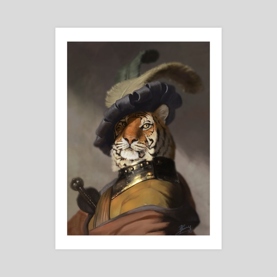 Fancy Tiger by Matt Ramsey
