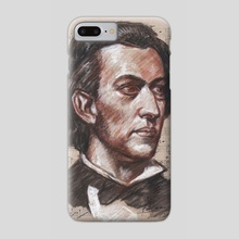 frederic Chopin - Phone Case by mamut  rojo