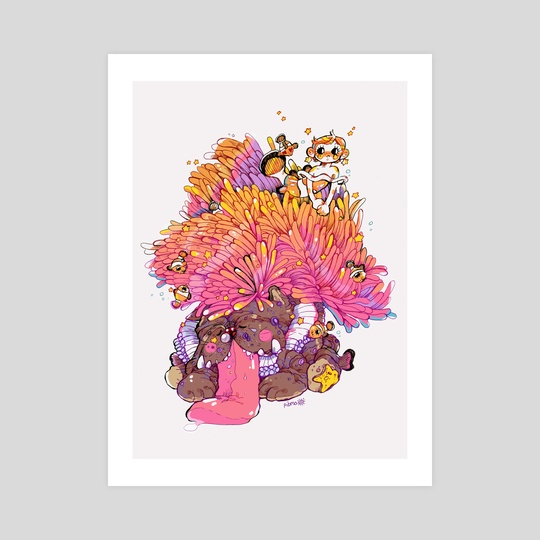 mermay 01 - clownfish by Guinevere Reilly