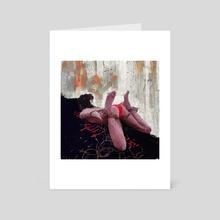 ENTER SHIBARI - Art Card by Cyrill Mortvald