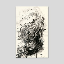 Spectrum 4 - Acrylic by Lydia Roberts