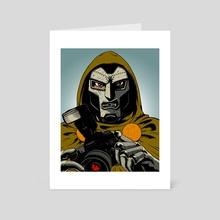 Dr. Doom - Art Card by Evanimal
