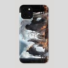 Break The Wheel : Drogon - Phone Case by Ertaç Altınöz