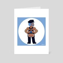Grumpy Bear - Art Card by Cody Shipman