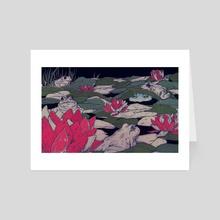 Amongst Friends - Art Card by Maria Nguyen