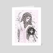Crystal Ball - Art Card by Janaina Medeiros