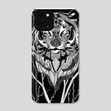 tiger - Phone Case by kathi ha