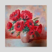 Poppies - Canvas by Leonard TsaL