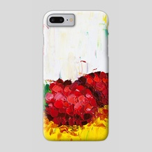 Slice of Raspberry - Phone Case by Eric Buchmann