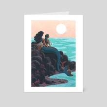 The Sea - Art Card by Alison George