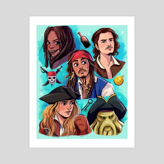 Pirates of the Caribbean by Luz Tapia