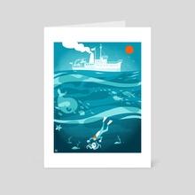Bill Moray - Art Card by Sean Dove