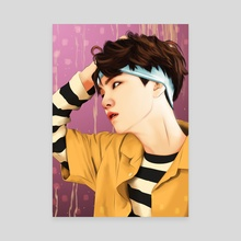 SUGA SUMMER - Canvas by Swastika Larasati