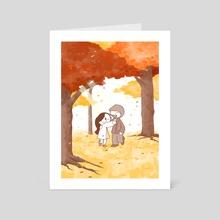Autumn  - Art Card by Catana Chetwynd