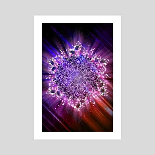 Mandala - Universe IV by Alexandre Ibáñez