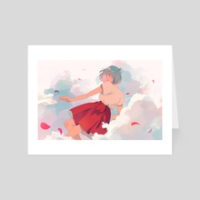 Freefalling - Art Card by jauni