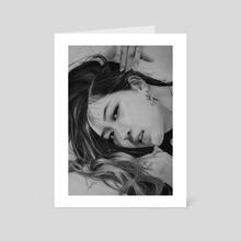Rose - Art Card by Zoe Y
