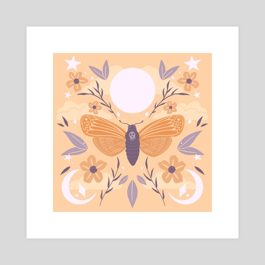 Night Butterfly by Emily Gunn