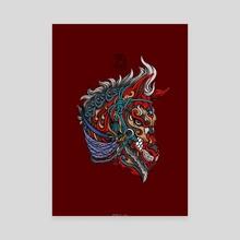 Horse - Turangga - Canvas by Andreas Kurniawan