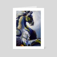 Pegasus - Art Card by Martha Wirkijowski